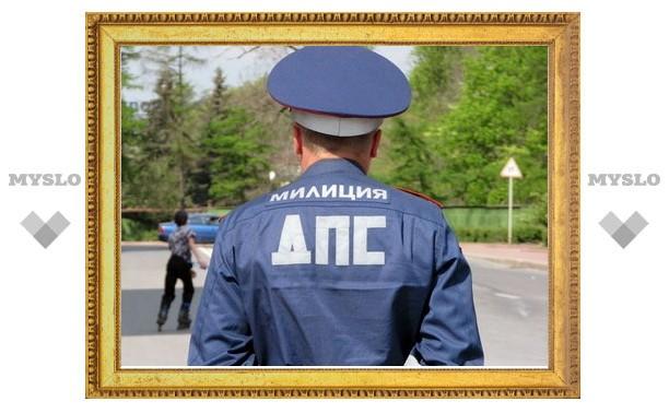 В Щекине убийца напал на инспектора ДПС