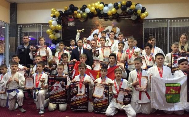 Тульские рукопашники привезли более 30 медалей с всероссийского турнира