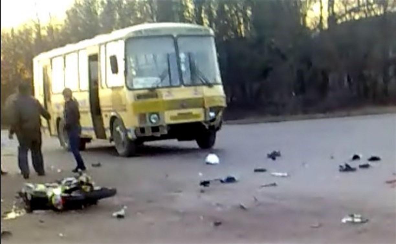 В Кимовске осудили водителя автобуса, сбившего насмерть скутериста