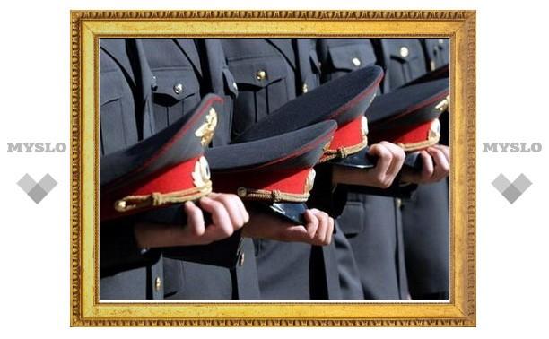 В Туле наградили лучших сотрудников МВД