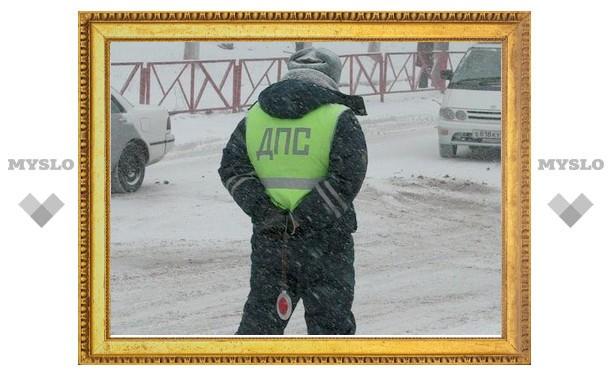 Жительница Новомосковска публично оскорбила и покусала инспекторов ДПС