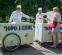 В Новомосковске мужчина украл тележку с мороженым