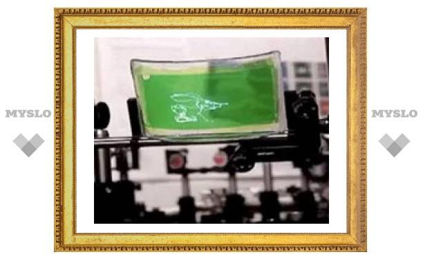Разработан гибкий 2D дисплей, который можно носить в кармане