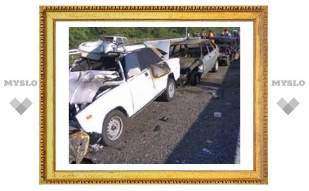 За три дня на тульских дорогах произошло 45 аварий
