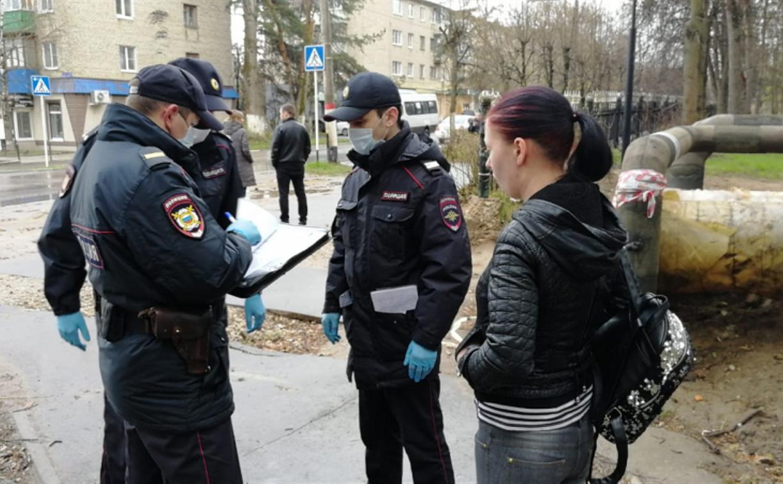 Полицейский рейд по карантинным ограничениям в Алексине: выявлено 8 нарушителей