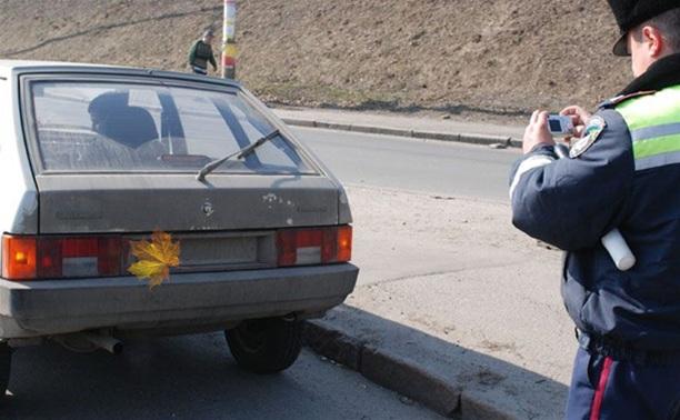 Туляк заплатил 5000 рублей за кленовый листик на номере машины