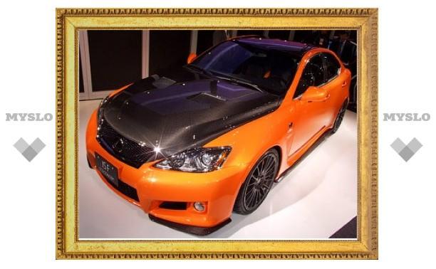 Седан Lexus IS-F превратили в карбоновый автомобиль для трек-дней