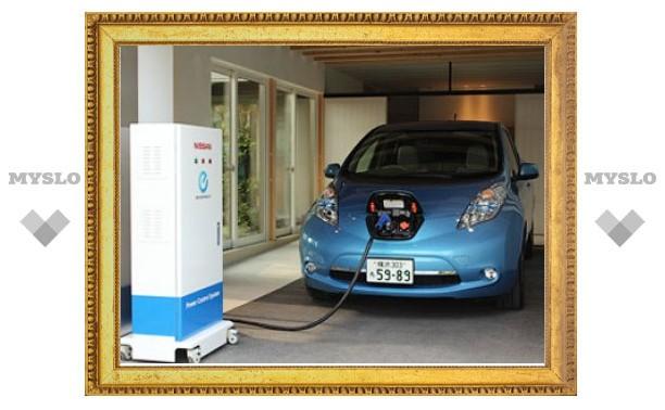 Nissan Leaf превратили в домашнюю электростанцию