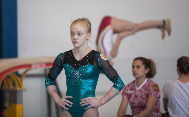 Тулячка Ирина Комнова – триумфатор первенства ЦФО по спортивной гимнастике