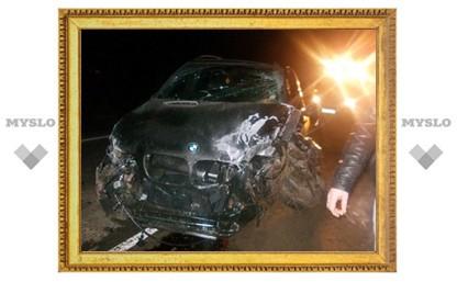 На въезде в Тулу произошло серьезное ДТП с четырьмя авто