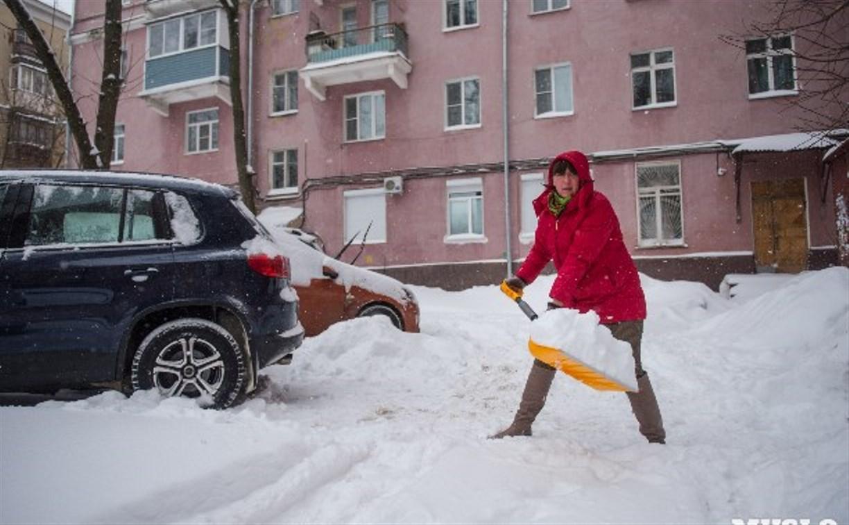 Куда тулякам жаловаться на неубранный снег во дворах?