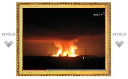 Пожар на газопроводе под Санкт-Петербургом потушен