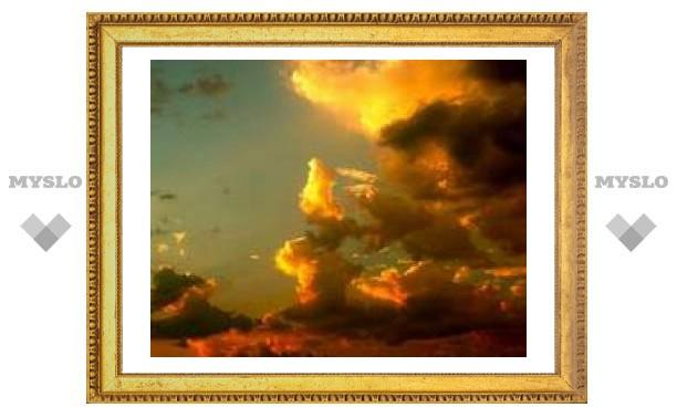 10 июня: Золотые облачка летают над землей