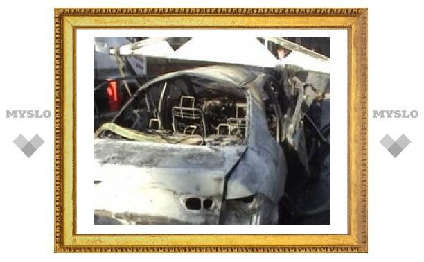 Под Тулой орудуют поджигатели машин