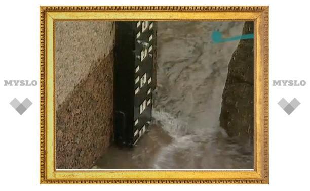 Ока в Алексине поднялась на 6 метров