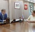 Алексей Дюмин обсудил с Юлией Шойгу ход проекта «Научись спасать жизнь!»