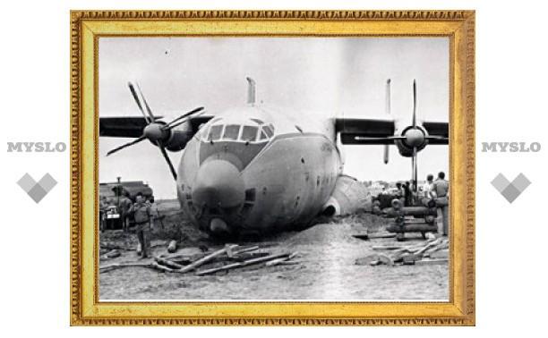 Очевидцы сообщают о сбое в работе двигателя Ан-22