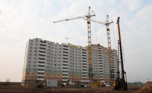 Владимир Груздев проинспектировал ход строительства микрорайона Новая Тула