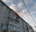 В Туле огнеборцы спасли человека из горящей квартиры