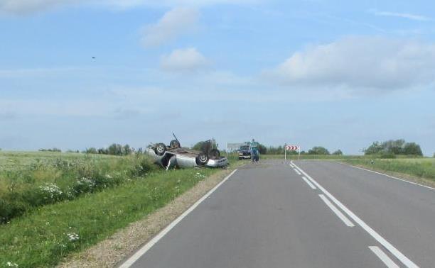 В аварии под Богородицком пострадала 32-летняя женщина
