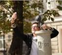 """Московские блогеры погладили """"хвост"""" на удачу"""