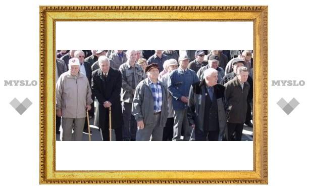 Пенсионеров Тулы заставят работать
