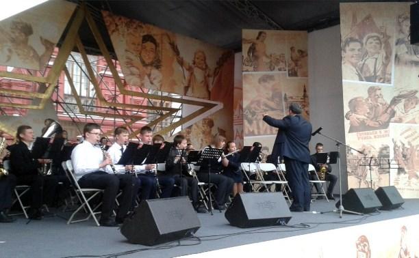 Юные тульские музыканты стали участниками военно-музыкального фестиваля «Спасская башня»
