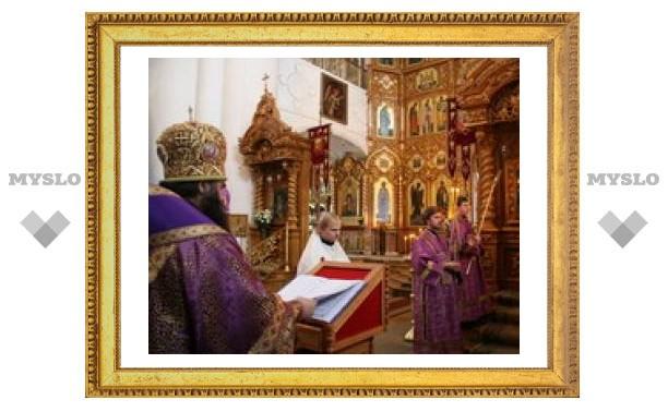 В Туле прошли празднования Почаевской иконы Божией Матери