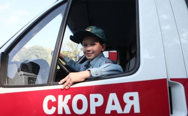 В Туле прошёл первый детский парад профессий