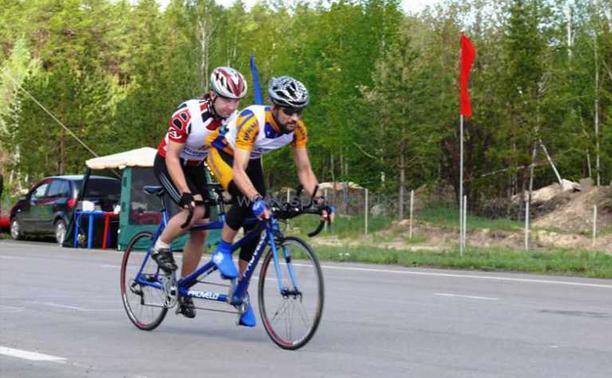 Тульско-тамбовские пары стали лучшими по велоспорту среди слепых
