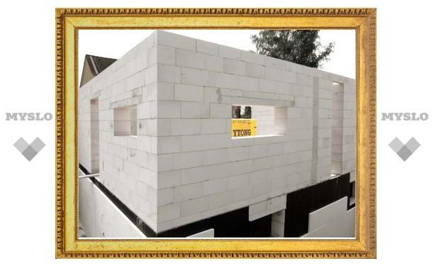 Дома для погорельцев строят из спецматериала