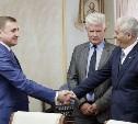 Алексей Дюмин встретился с кубинским послом Херардо Пеньяльвером