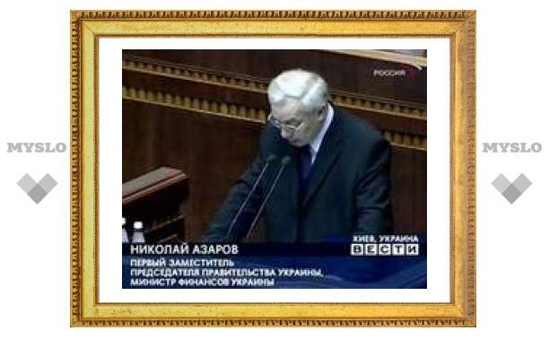 Министр финансов Украины не нашел денег на новые выборы