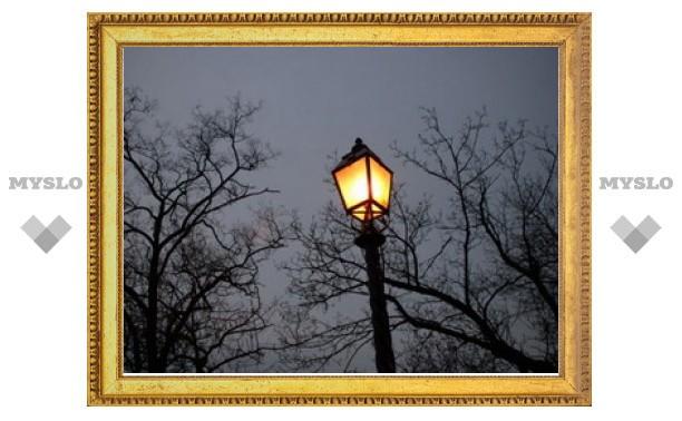 В Туле заменят освещение