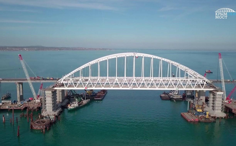Названа дата открытия Крымского моста