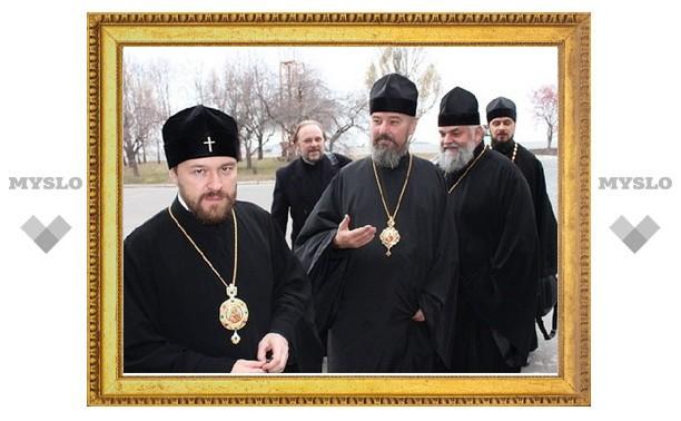 Начался визит митрополита Волоколамского Илариона на Украину