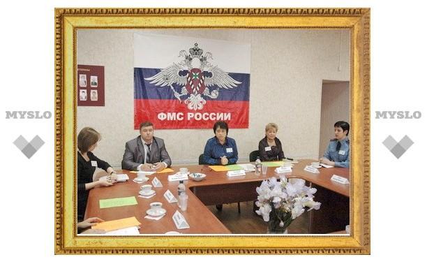 Лидеры узбекской диаспоры побывали в миграционной службе