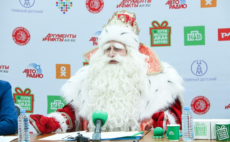 Главный Дед Мороз России тулякам: «Находите время для добрых дел!»