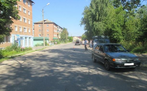В Суворове четырехлетний мальчик попал под колеса автомобиля