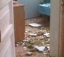 В больницах Тулы из-за растаявшего снега протекают крыши и обваливаются потолки