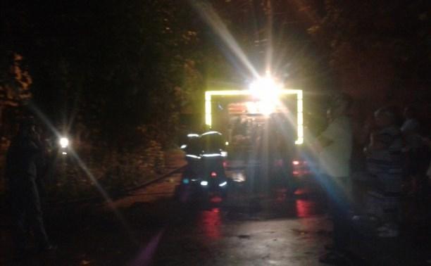 Пожарные спасли 35 человек во время пожара в Новомосковске