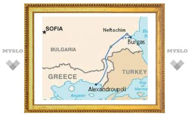 Греция предлагает России построить газопровод