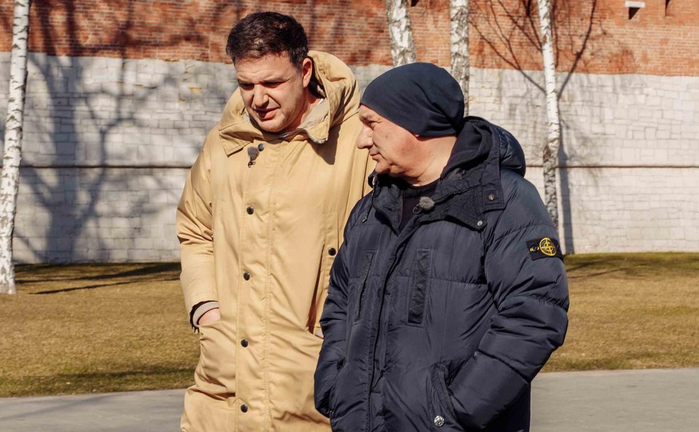 Максим Виторган и Николай Фоменко записали в Туле программу о детях войны