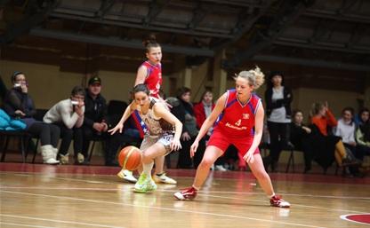 Юные тульские баскетболистки уступили сверстницам из Москвы