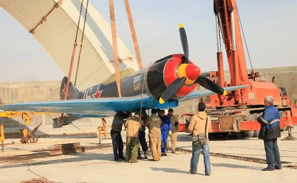 На мемориале «Защитникам неба Отечества» устанавливают копию самолёта