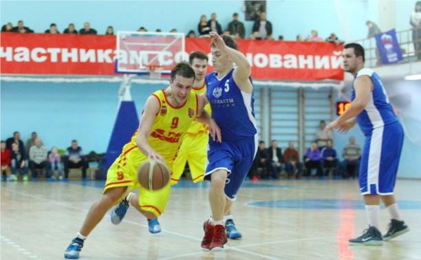 "Баскетболисты ""Тула-Арсенал"" дважды переиграли костромичей"