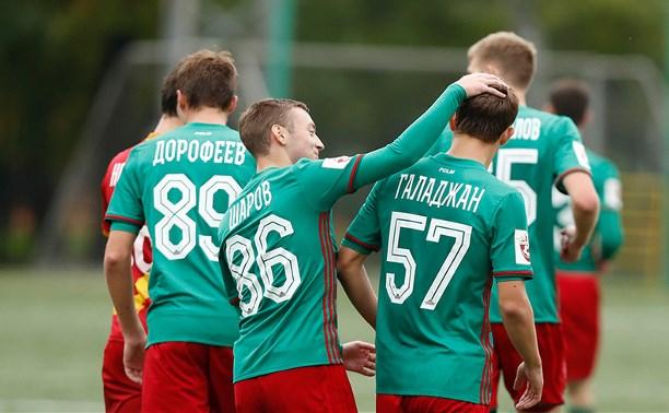 Молодежная команда «Арсенала» проиграла «Локомотиву»