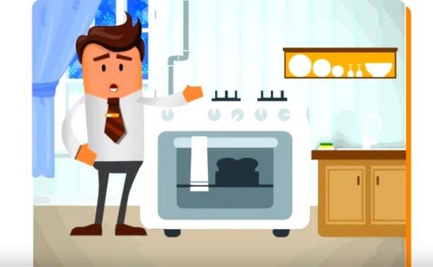 «Тулагоргаз» снял мультик о безопасном пользовании газовыми приборами