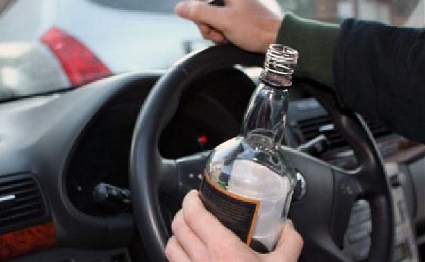 Попался пьяны за рулём