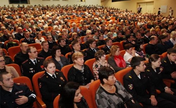 В Городском концертном зале поздравили тульских полицейских